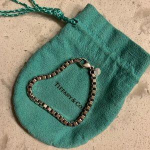 Authentic Tiffany & Co. Box Bracelet